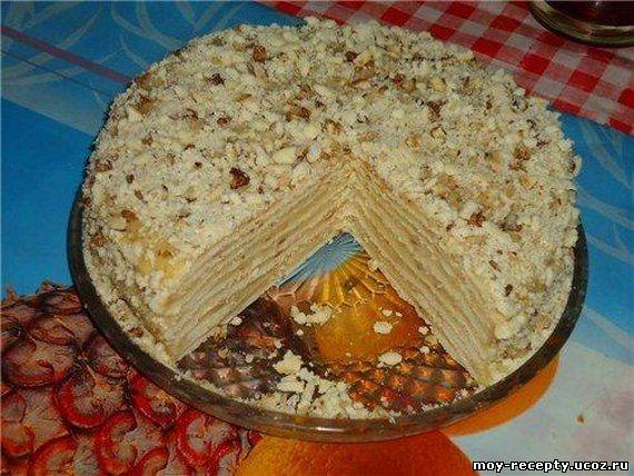 Торты на сковороде без выпечки пошаговый рецепт